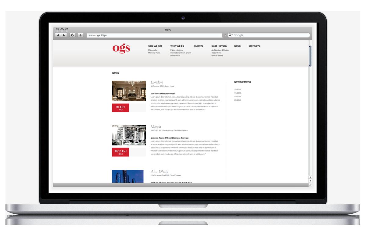 OGS websites