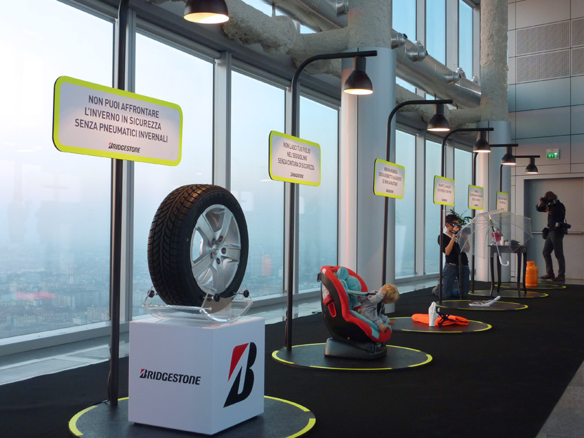 Bridgestone Installation
