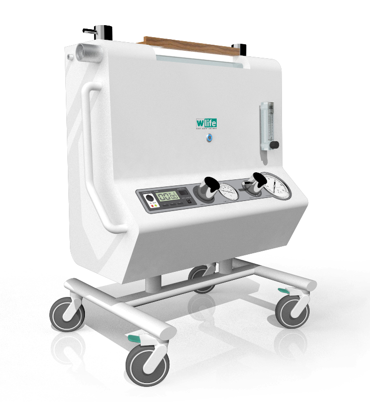 W-LIFE medical machine redesign