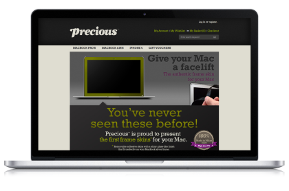 Precious™ e-commerce website