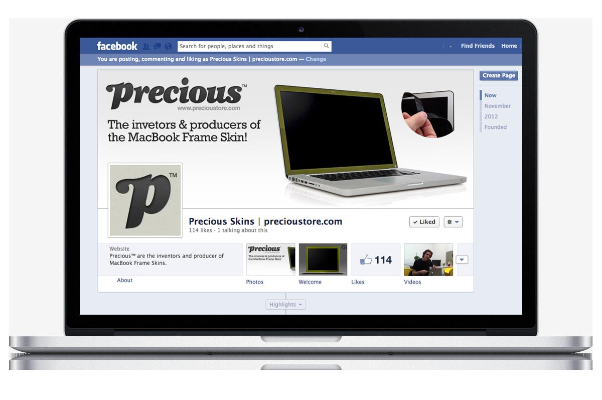 Precious™ e-commerce website