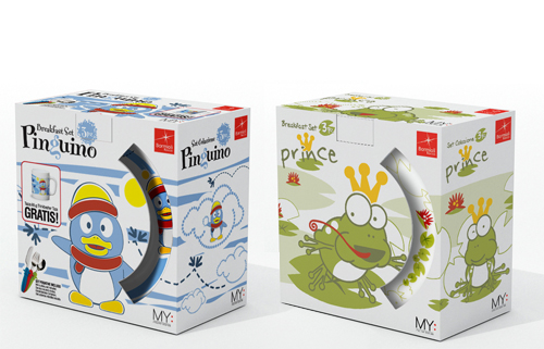 Bormioli plates packaging