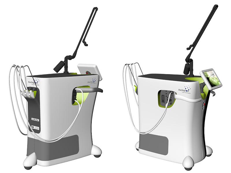 Asclepion laser machine redesign