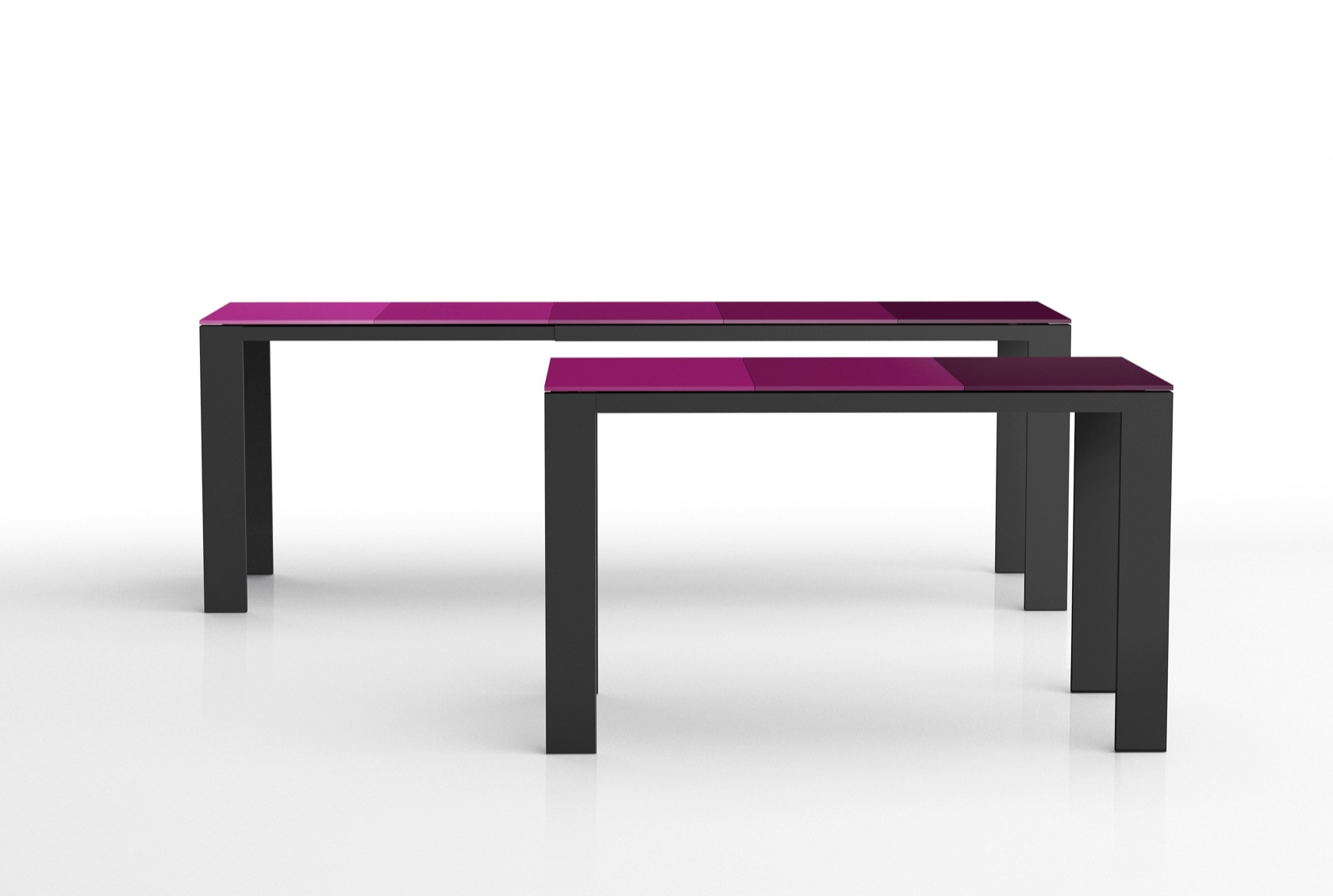 Fade Out extendable table