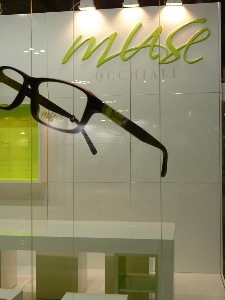 Muse Eyeware stand