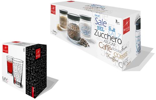 Bormioli jar packaging