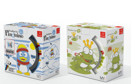 Bormioli plates packaging