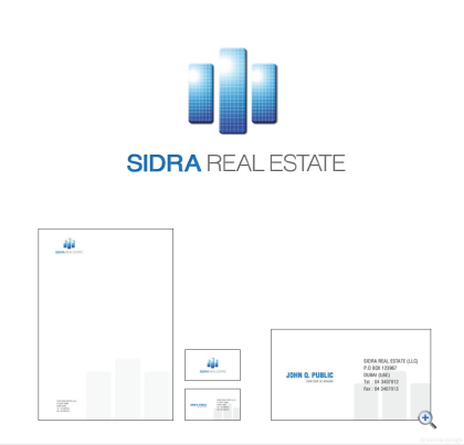 Sidra Real Estate Identity