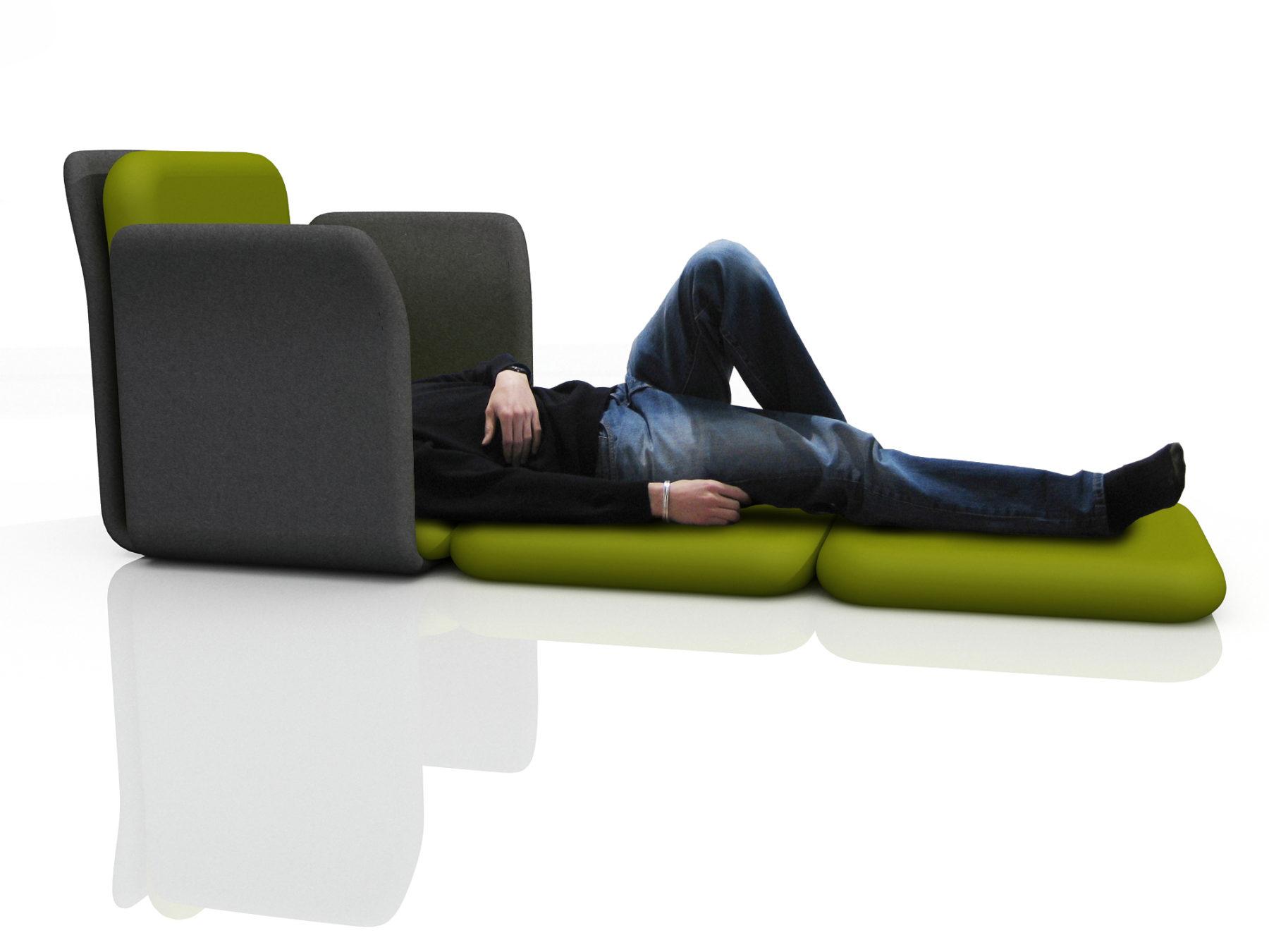 sleeping pod version
